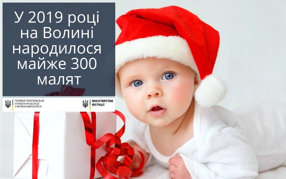 Повідомили, скільки малят народилось у новому році на Волині
