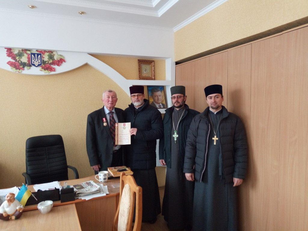 На Волині директора ВПУ нагородили відзнакою Волинської єпархії УПЦ. ФОТО