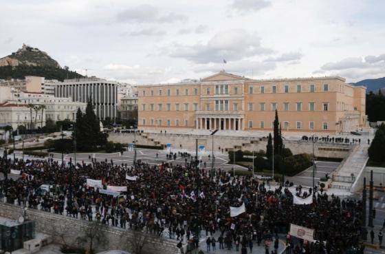 У Греції вчителі побились з поліцейськими