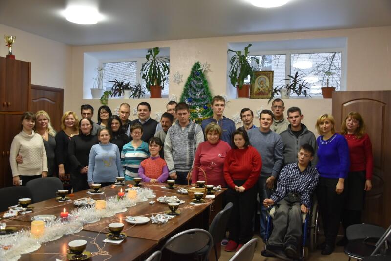 Особливих лучан привітали із новорічно-різдвяними святами. ФОТО