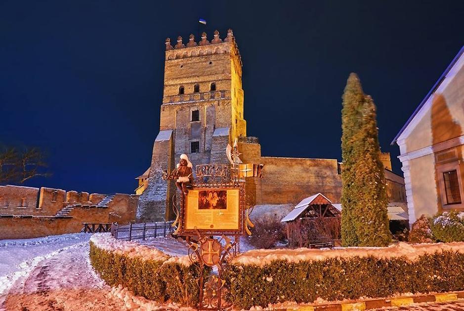 Відбулась перша «Новорічна містерія у Луцькому замку»