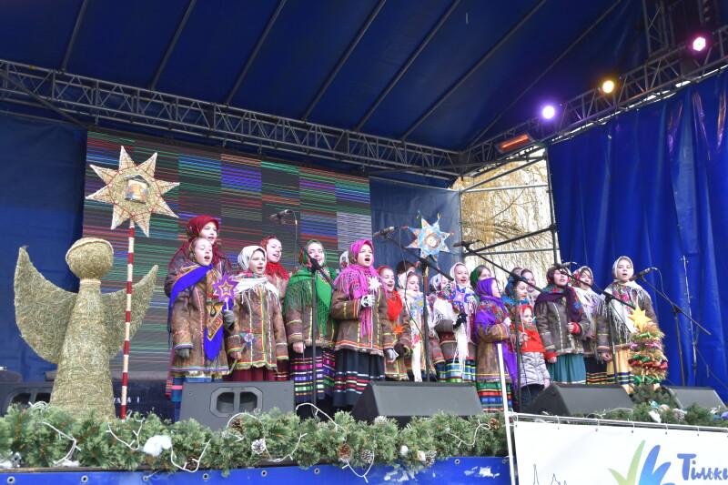 Відкрили етно-фестиваль «Різдво у Луцьку». ФОТО