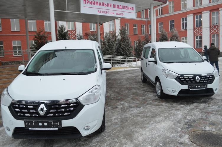Автопарк Ковельського МТМО поповнили легковими автомобілями. ФОТО