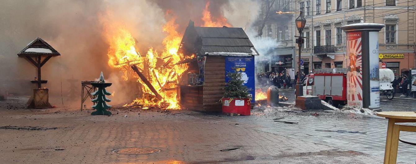 У львівській лікарні помер обгорілий під час вибуху на різдвяному ярмарку чоловік