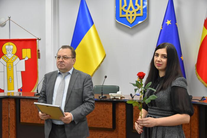 У Луцькраді відзначили представників соціально відповідального бізнесу