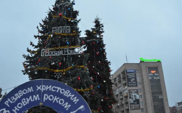 Новорічно-різдвяні свята у Луцьку пройшли насичено