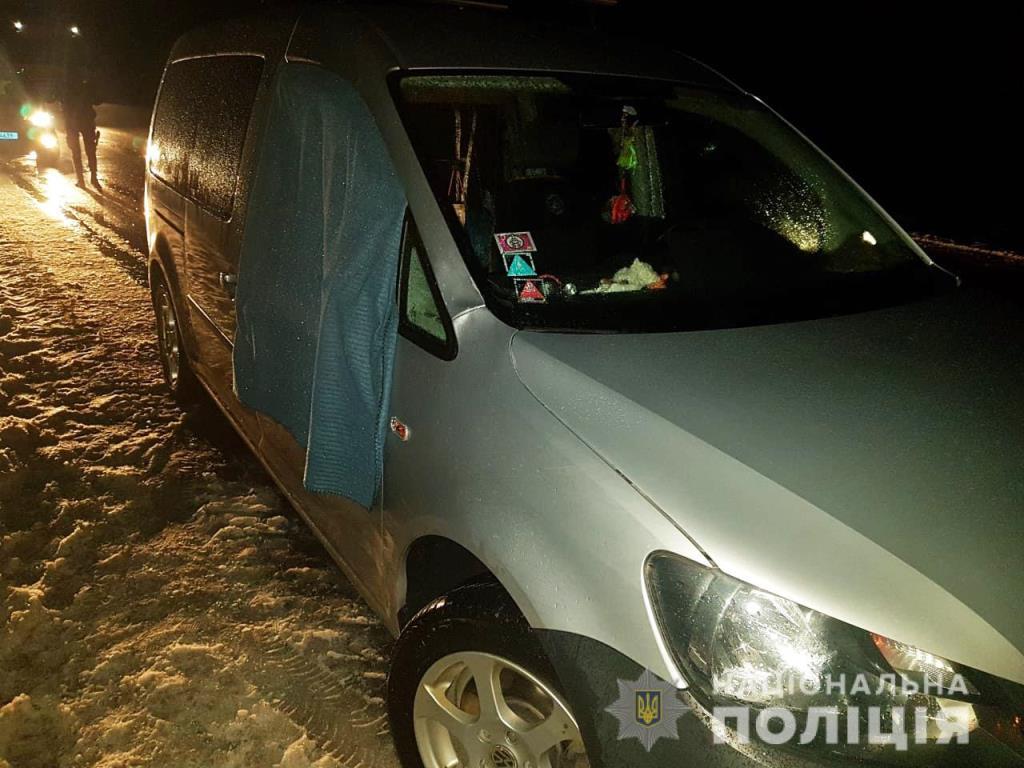 На Волині автомобіль на смерть збив дитину. ФОТО