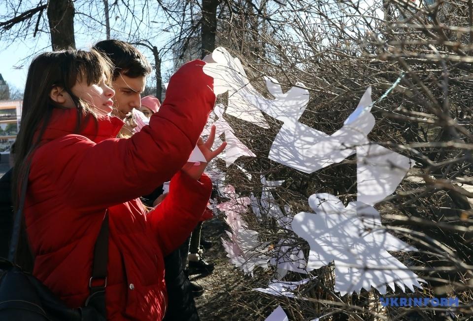 У Києві вшанували Героїв Небесної сотні. ФОТО