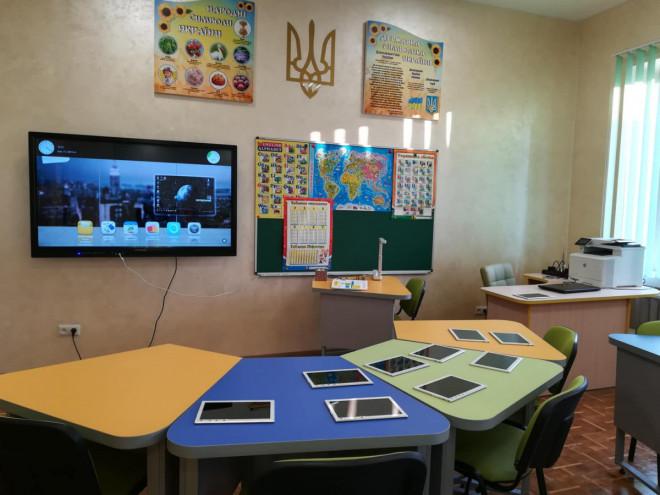 У Луцькому педколеджі відкрили інноваційний клас. ФОТО
