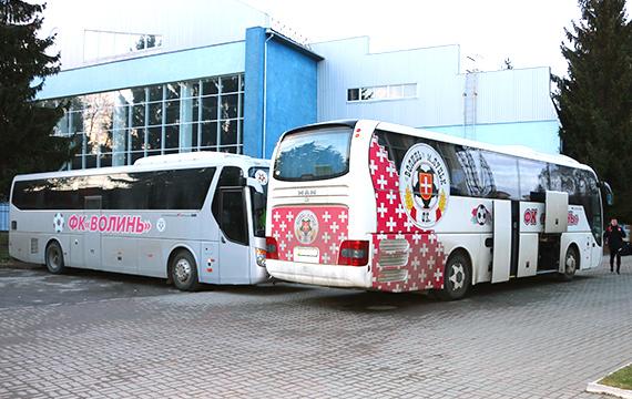 Волинські футболісти вирушили на збір до Туреччини