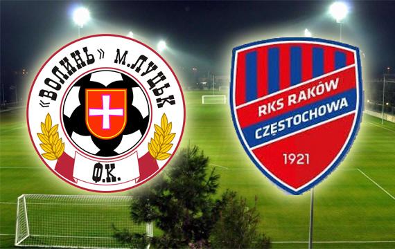 ФК «Волинь» зіграла матч з польським ФК «Ракув»