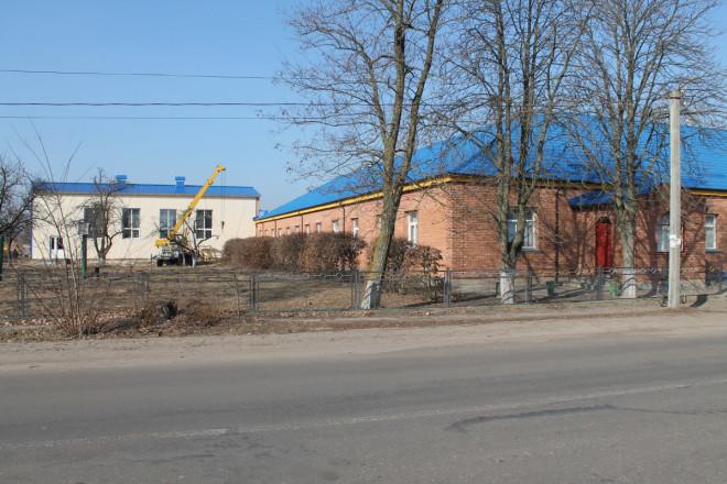 На Волині добудують спортивну залу для місцевої школи. ФОТО