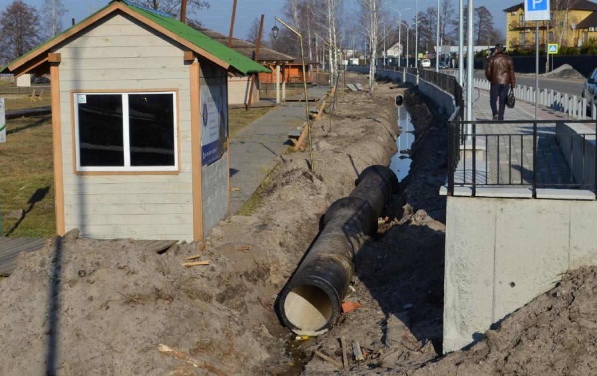 На Волині реалізують проект каналізування населених пунктів навколо озера Світязь. ВІДЕО. ФОТО