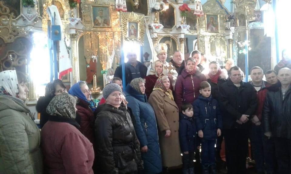 У селі на Волині вперше молилися українською мовою