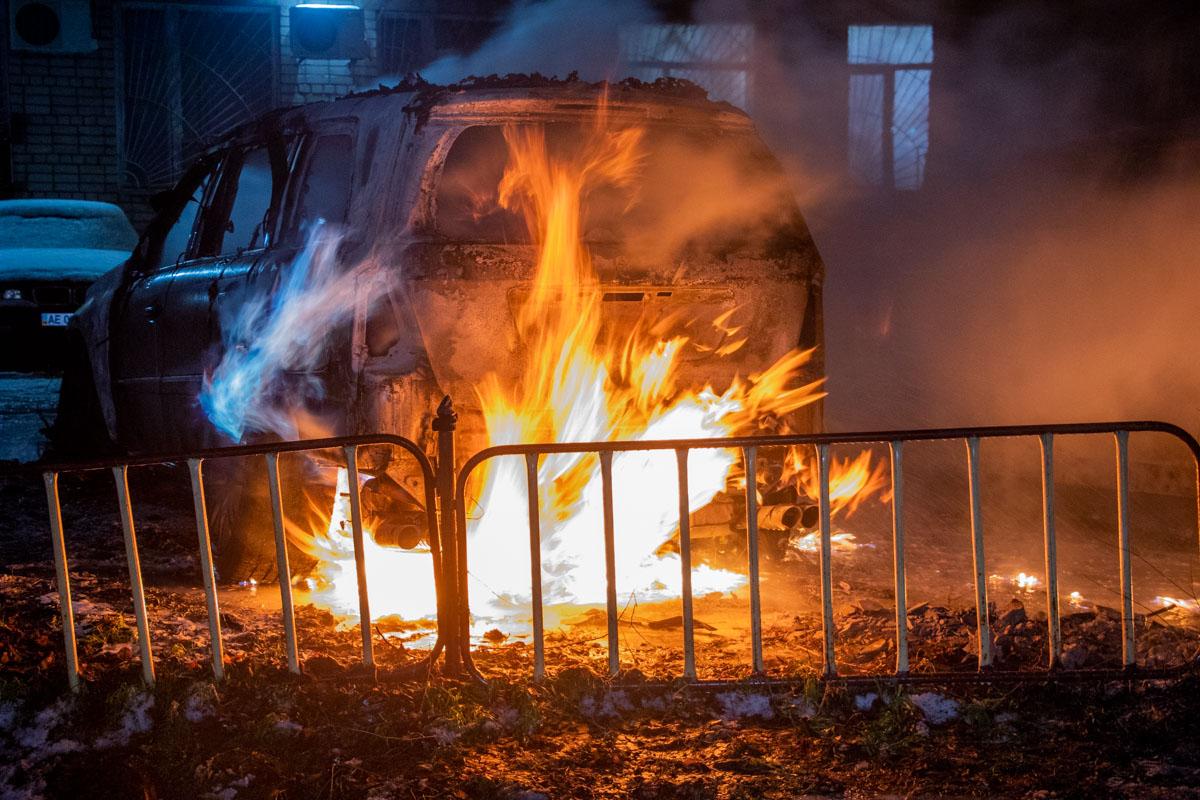 За минулу добу на Волині загорілись дві автівки