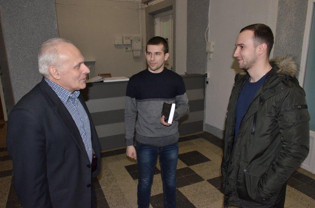 Герой України відвідав музей у Луцьку. ФОТО