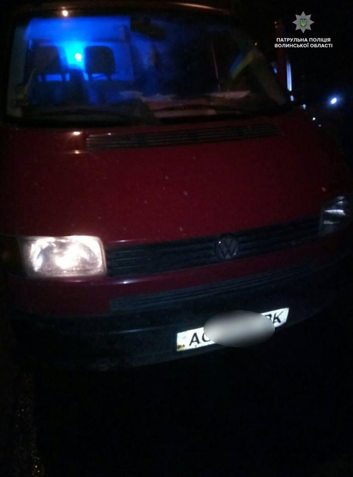 Повідомили деталі затримання нетверезого водія на краденому авто у Луцьку