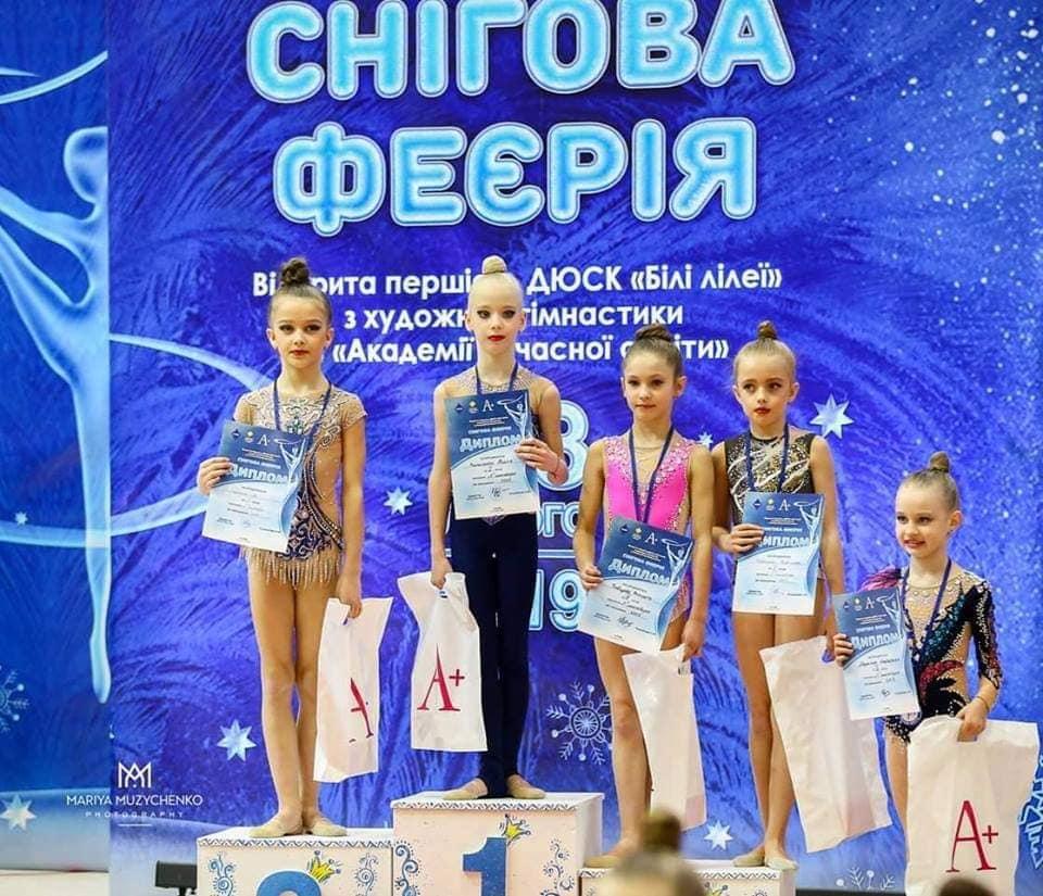 Луцькі гімнастки привезли нагороди з міжнародного турніру. ФОТО