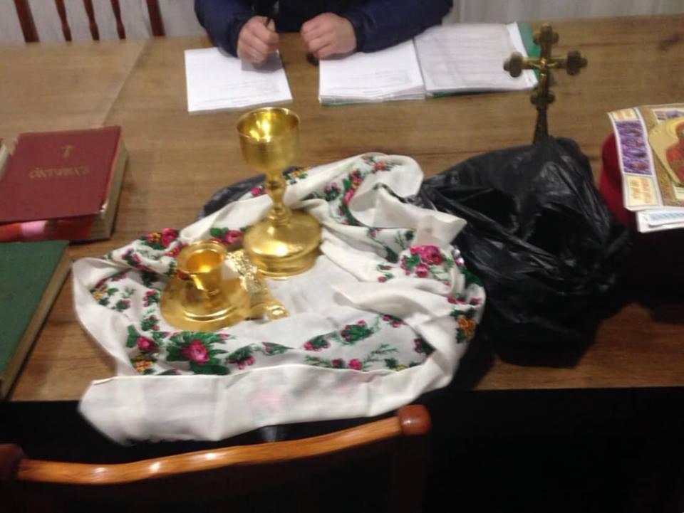 Волинського священика звинуватили у крадіжці церковного майна