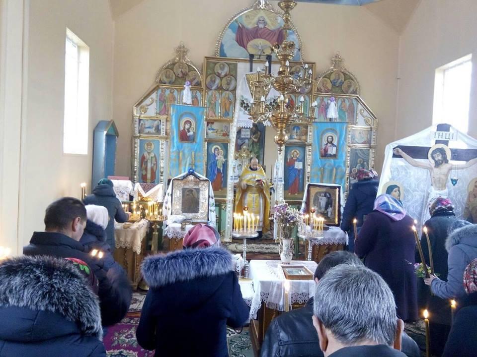 На Волині у ще одному храмі вперше відбулося Богослужіння українською мовою