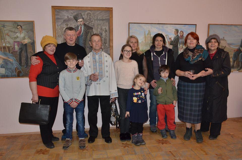 У Луцьку відкрили виставку до 205-ої річниці від дня народження Тараса Шевченка. ФОТО
