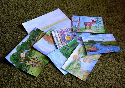 Волинян просять відзначити найкращі учнівські малюнки. ФОТО