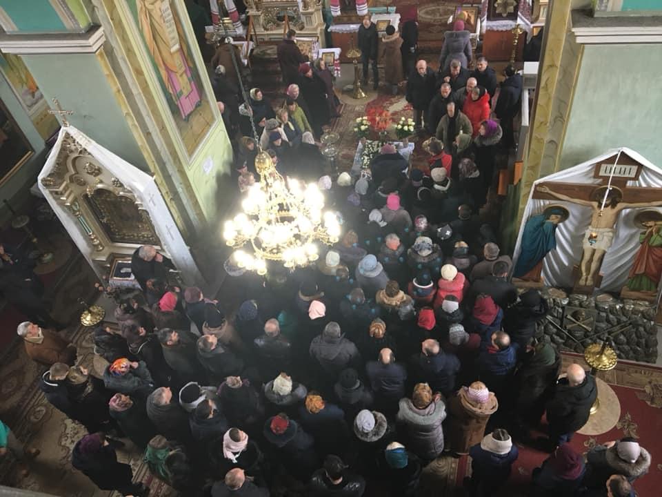 Перша літургія ПЦУ відбулася у храмі в селі Жидичин