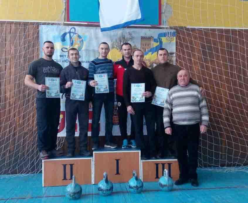 Вогнеборці здобули першість на чемпіонаті з гирьового спорту. ФОТО