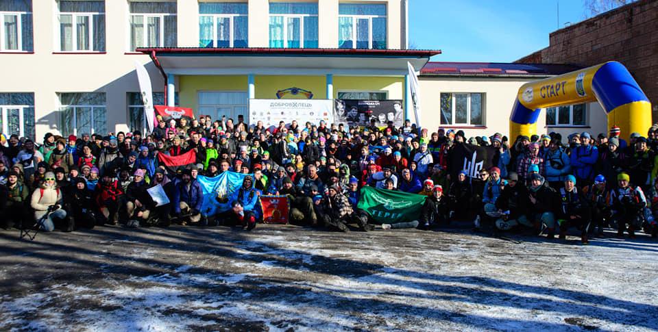 На Волині відбулись екстремальні зимові туристичні змагання. ФОТО