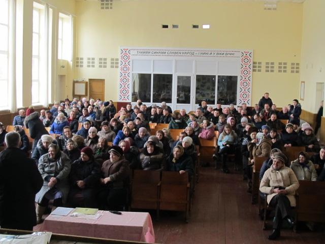 Село поблизу Луцька хоче приєднатися до ОТГ всупереч Перспективному плану. ФОТО