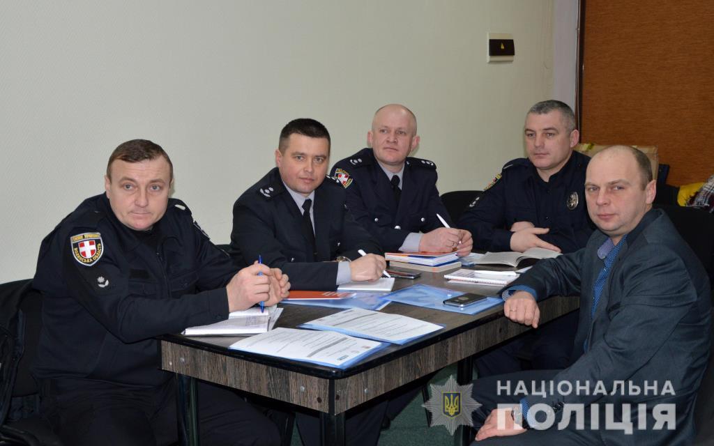 Поліцейські Волині взяли участь у тренінгу із забезпечення законності виборів. ФОТО