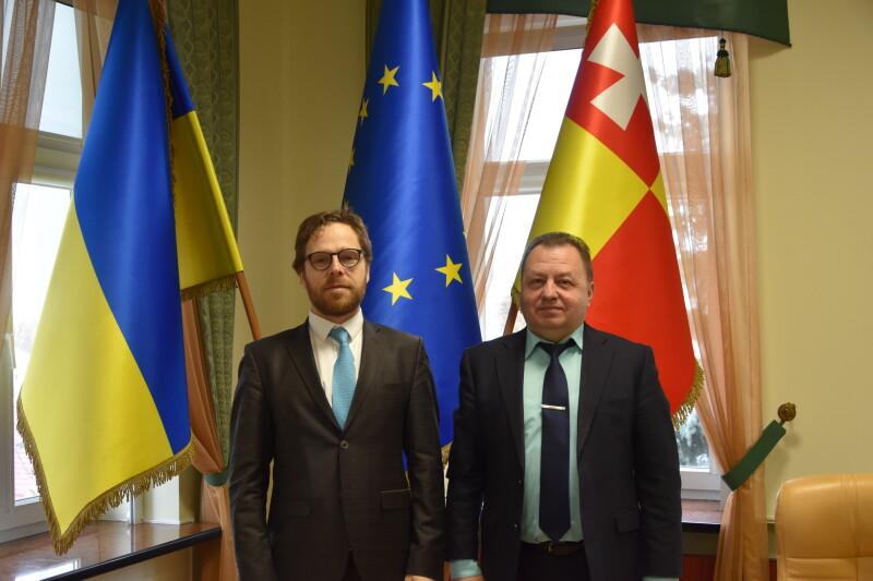 До Луцька завітав представник Посольства Литви в Україні