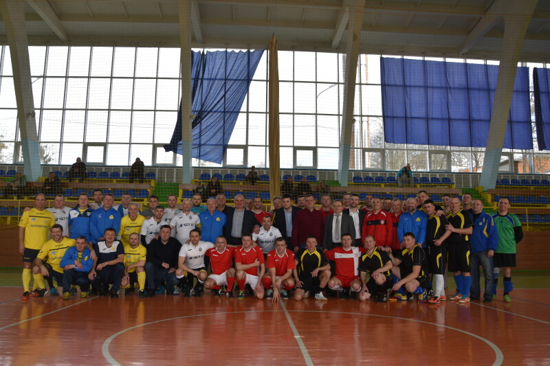 У Луцьку урочисто відкрили турнір з футзалу пам'яті Миколи Романюка. ФОТО