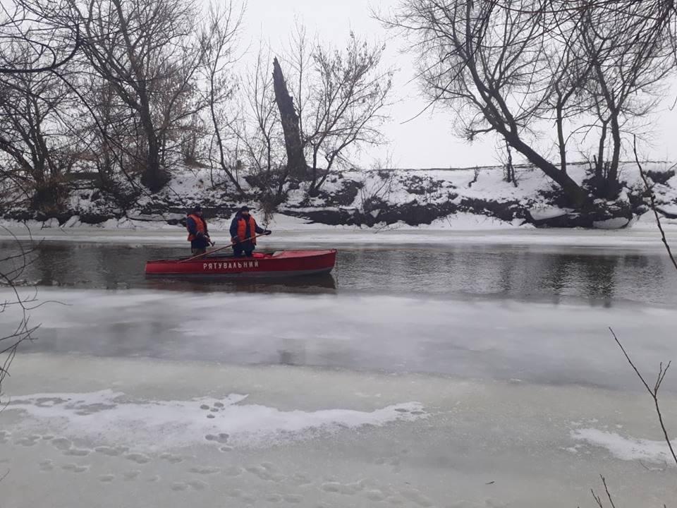 У Луцьку триває пошук людини, яка потонула на річці Стир. ФОТО
