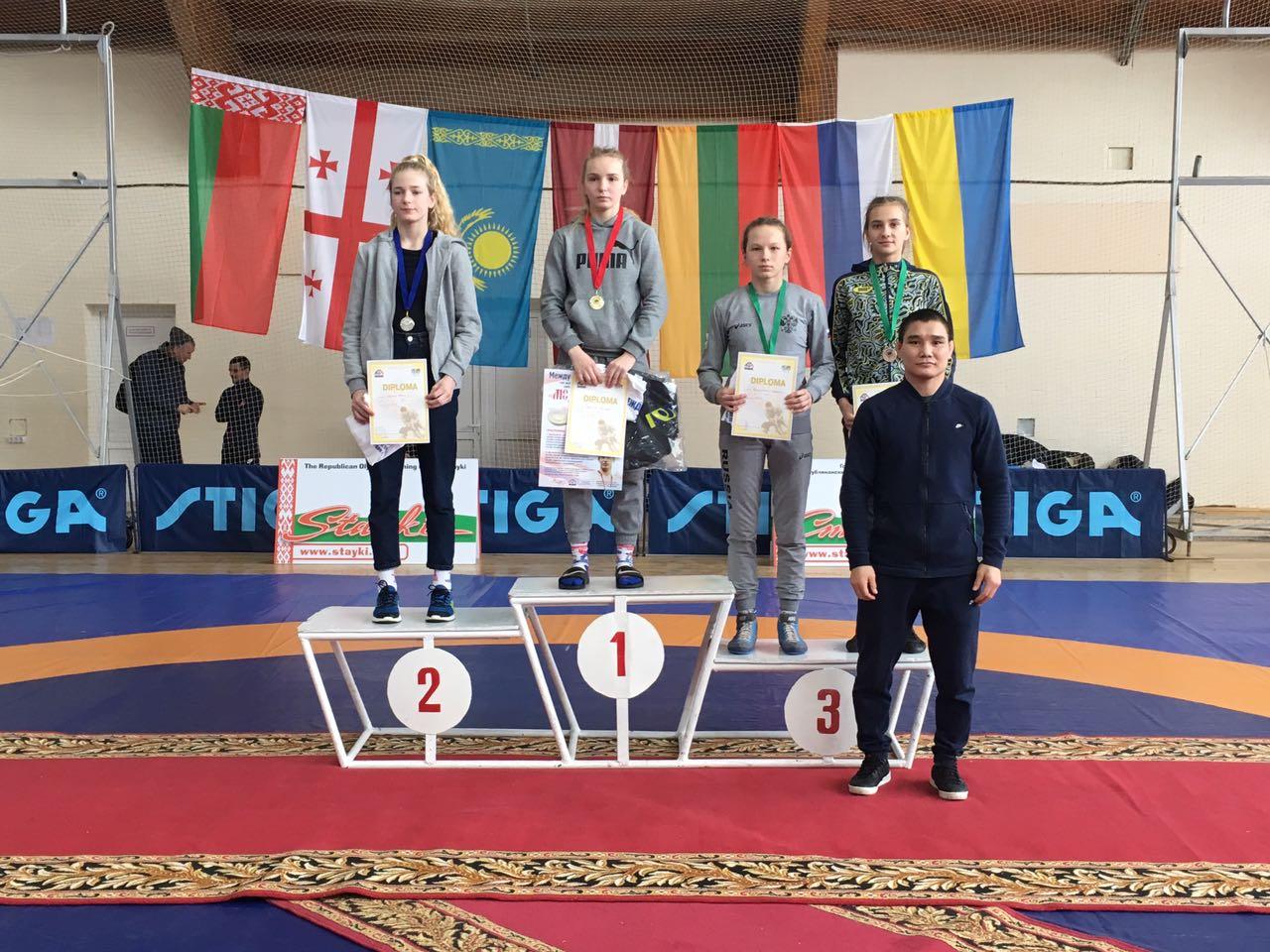 Ковельчанка стала бронзовою призеркою на змаганнях у Мінську
