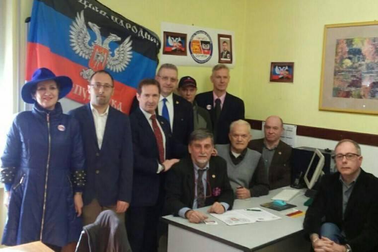В італійській Вероні відкрили «представництво» бойовиків «ДНР»
