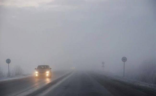 Волинян попереджають про туман та ожеледицю