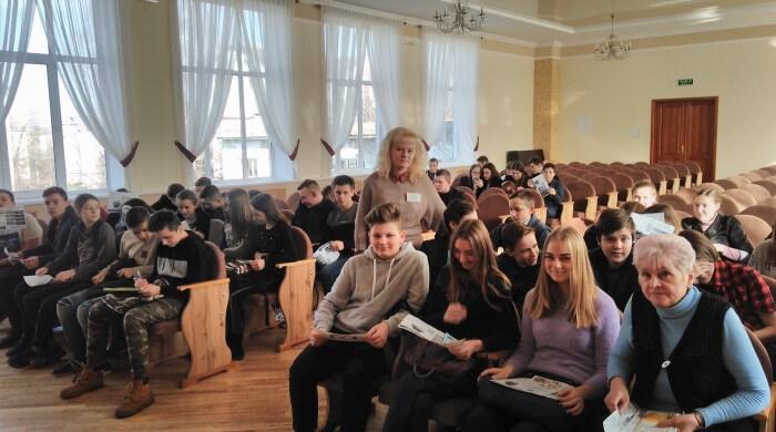 Учнів луцької школи ознайомили з правилами вибору професії