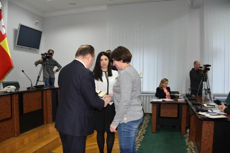 У Луцькраді привітали матерів-героїнь. ФОТО