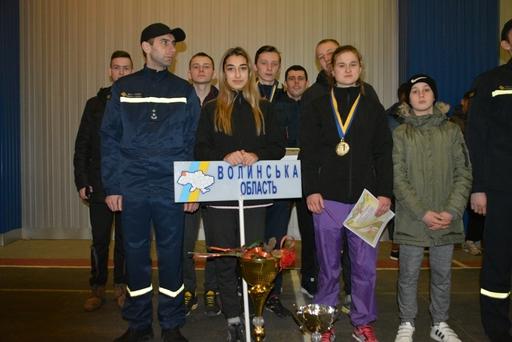 Волинські рятувальники повернулися переможцями зі змагань з пожежно-прикладного спорту. ФОТО