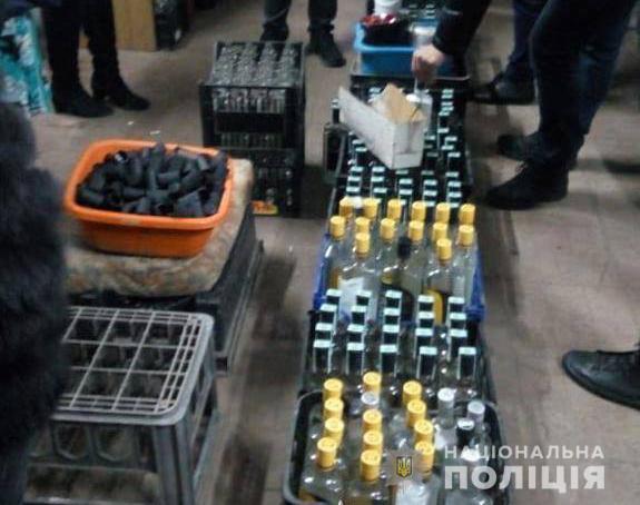 На Волині вилучили фальсифікованого алкоголю на півмільйона гривень. ФОТО