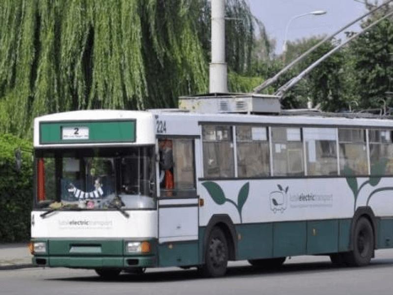 У Луцьку змінили схему руху тролейбуса № 12
