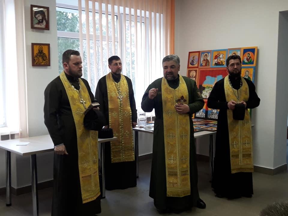 Волинські капелани освятили ікони, написані воїнами. ФОТО