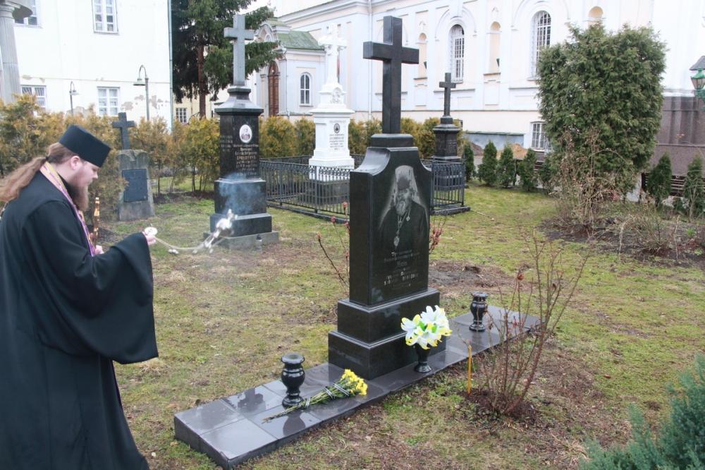 Пом'янули волинського митрополита з нагоди 15-річчя упокоєння