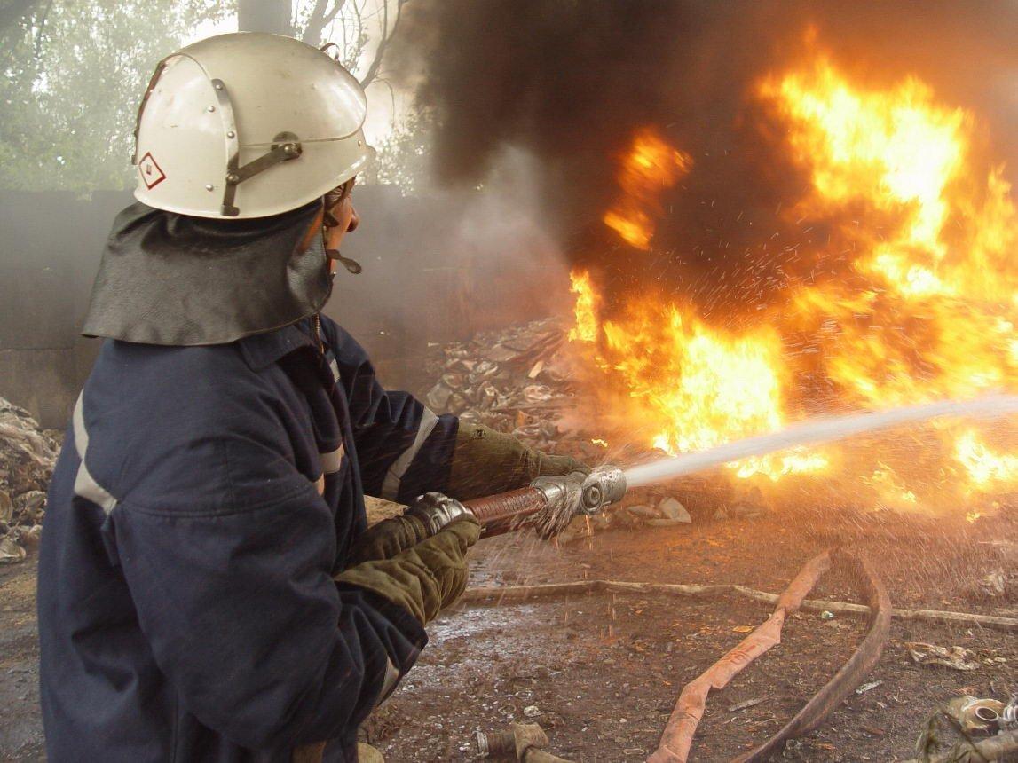 На Волині з пожежі врятували жінку з немовлям
