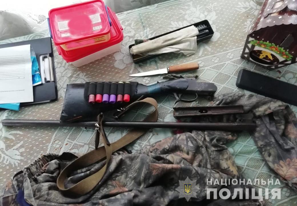У волинянина вилучили зброю та боєприпаси. ФОТО