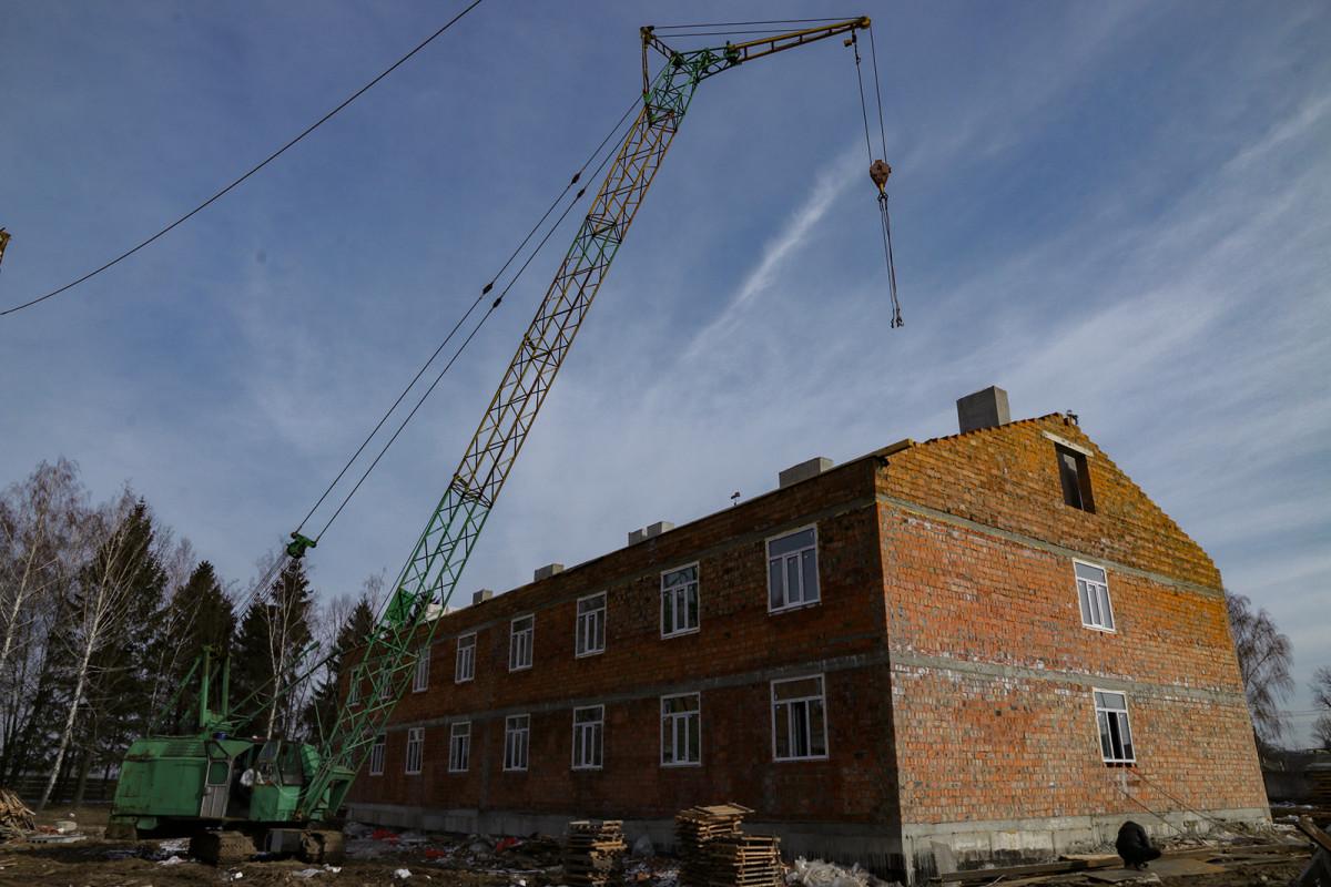 У Луцьку триває будівництво гуртожитків для військовослужбовців. ФОТО