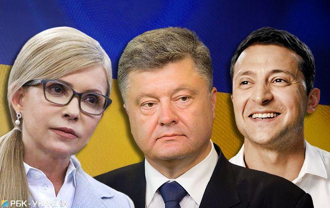 Хто лідирує в президентських перегонах: результати екзит-полу
