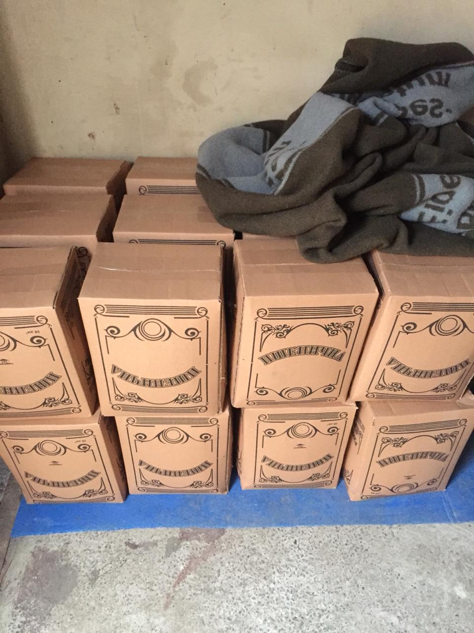 У Луцьку виявили місце зберігання фальсифікованих підакцизних товарів