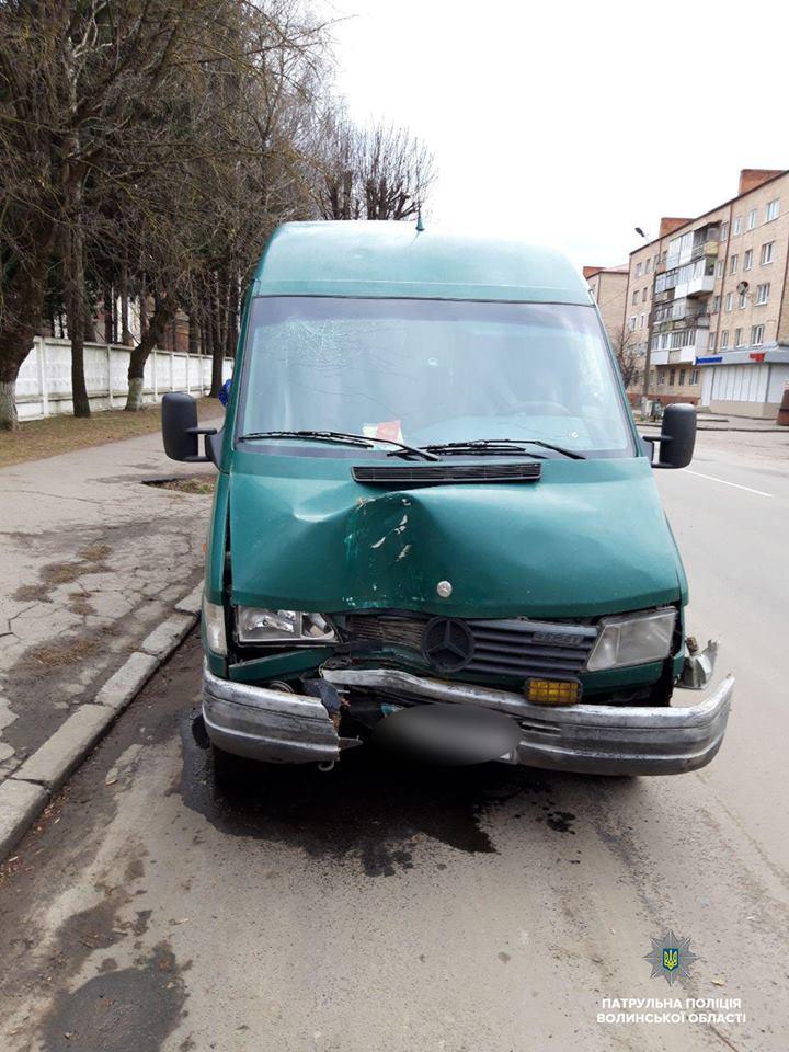 У Луцьку спіймали нетверезого водія. ФОТО